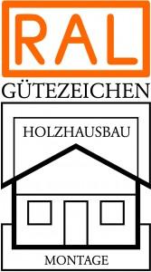 Holzhausbau Montage