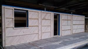 kologisch bauen der holzst nderbau mit der gfm massivholzplatte holzbau freisinger. Black Bedroom Furniture Sets. Home Design Ideas