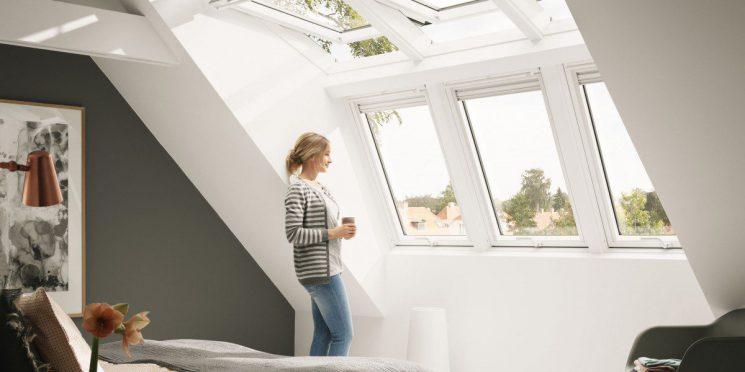 Velux eröffnet neue Dimensionen bei Belichtung des Dachgeschosses