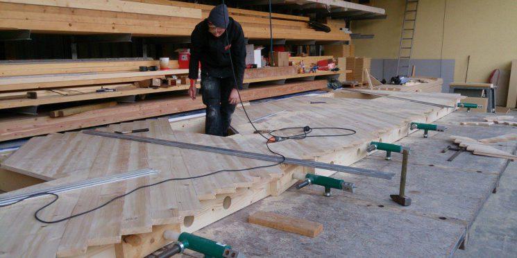 Ökologisch bauen – der Holzständerbau mit der GFM-Massivholzplatte