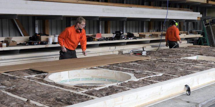 Ausbildung zum Zimmerer bei Holzbau Freisinger