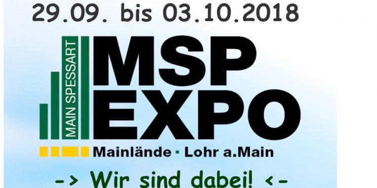MSP-EXPO Lohr am Main – Wir sind dabei!
